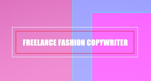 Fashion Copywriter 1