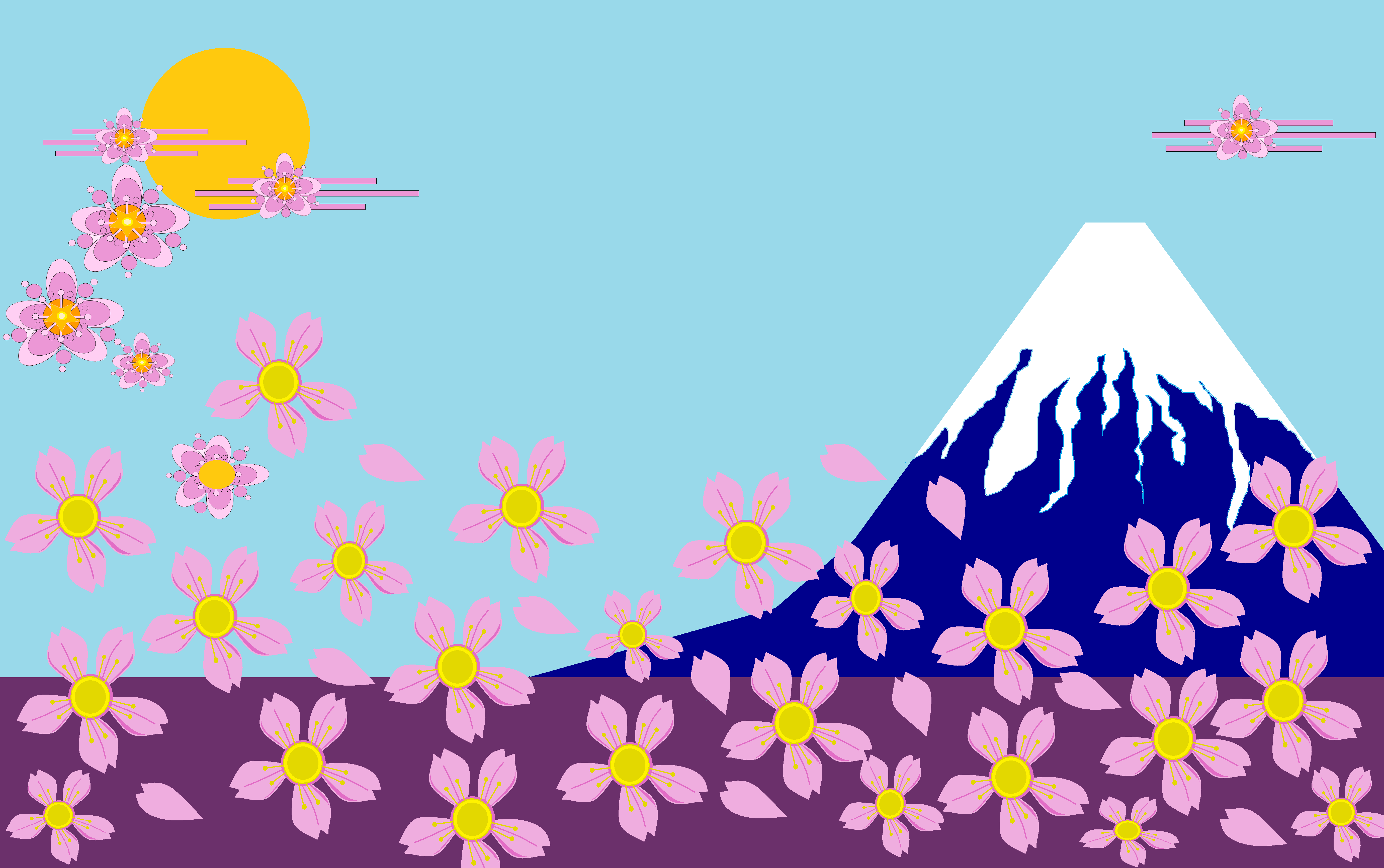 MS PAINT SPRING
